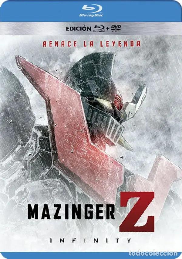 MAZINGER Z INFINITY BLU-RAY (Cine - Películas - Blu-Ray Disc)