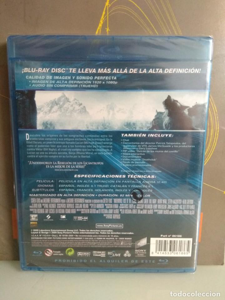 Cine: Underworld. La revolución de los licantropos Blu-Ray Disc - Foto 2 - 169314336