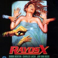 Cine: RAYOS X (BLU-RAY DISC BD ORIGINAL PRECINTADO) TERROR DE CULTO BARBI BENTON. Lote 278453173