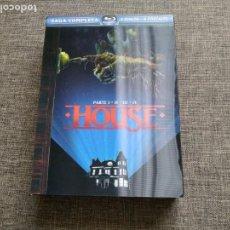 Cine: BLURAY HOUSE - SAGA COMPLETA - I, II, III , IV - NUMERADA - LIMITADA - RARA. Lote 169980836