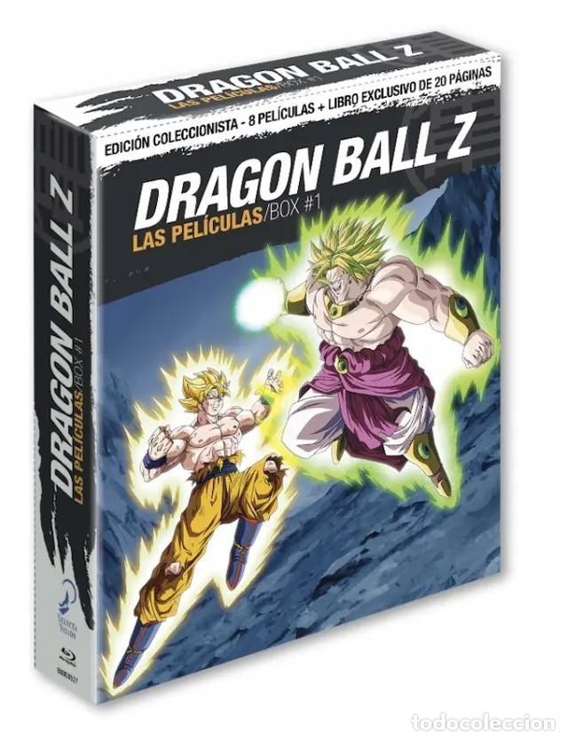 DRAGON BALL Z LAS PELÍCULAS BOX 1. BLU-RAY EDICIÓN (Cine - Películas - Blu-Ray Disc)