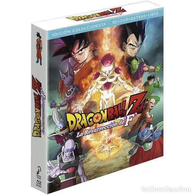 DRAGON BALL Z LA RESURRECCIÓN DE F. BLU-RAY - EDICCIÓN COLECCIONISTA (Cine - Películas - Blu-Ray Disc)
