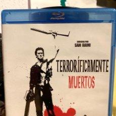 Cine: EVIL DEAD 2 - TERRORIFICAMENTE MUERTOS BLU-RAY - BRUCE CAMPBELL - EVIL DEAD II. Lote 170301829