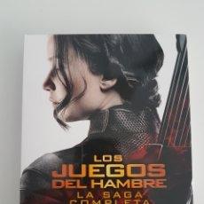 Cine: SAGA COMPLETA LOS JUEGOS DEL HAMBRE BLUE RAY. Lote 170488854