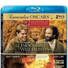 Cine: PACK: EL TALENTO DE MR. RIPLEY + EL INDOMABLE WILL HUNTING [BLU-RAY] - NUEVO Y PRECINTADO . Lote 170497092