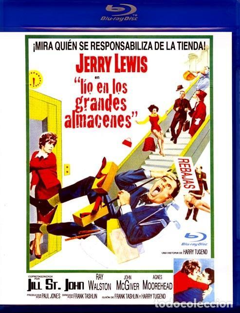 LÍO EN LOS GRANDES ALMACENES (BLU-RAY DISC BD PRECINTADO) JERRY LEWIS (Cine - Películas - Blu-Ray Disc)