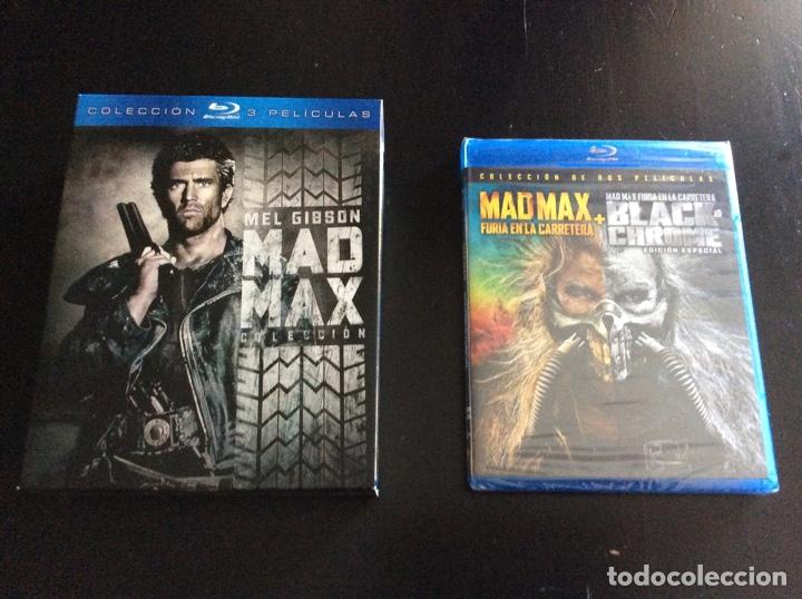 COLECCIÓN COMPLETA PELÍCULAS MAD MAX BLU-RAY (Cine - Películas - Blu-Ray Disc)