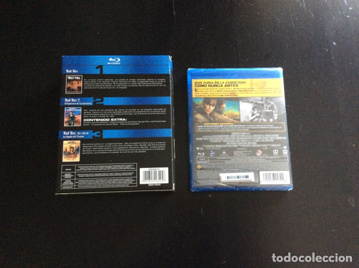 Cine: Colección completa películas Mad Max Blu-ray - Foto 2 - 170928254