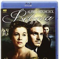 Cine: REBECA - BLU-RAY NUEVO Y PRECINTADO - LAURENCE OLIVIER - ALFRED HITCHCOCK. Lote 171028138