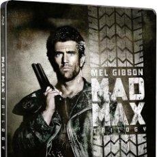 Cine: MAD MAX TRIOLOGIA STEELBOOK 3 BLU RAY NUEVA Y PRENCINTADA DESCATALOGADA. Lote 171225134