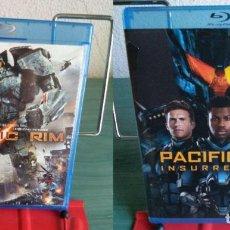 Cine: PACK BLU RAY PACIFIC RIM : TITANES DEL PACIFICO + INSURRECCION. Lote 171357627