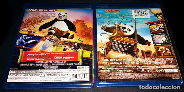 Cine: Kung Fu Panda 1 + 2 Lote Pack Bluray - Como nuevo - blu-ray blu ray KungFu - Foto 2 - 171447845
