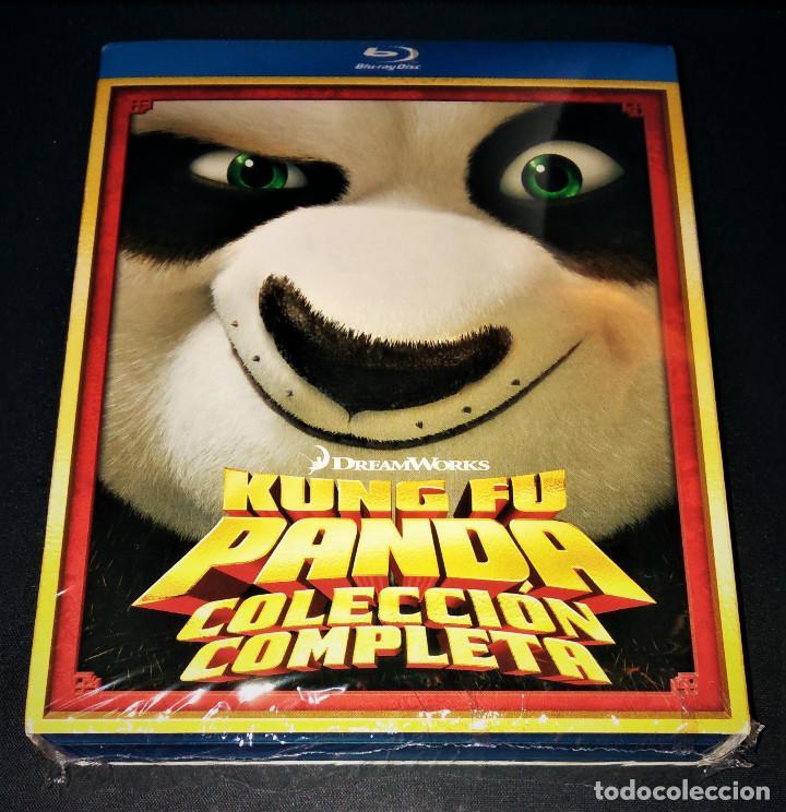 Cine: Kung Fu Panda 1 + 2 Lote Pack Bluray - Como nuevo - blu-ray blu ray KungFu - Foto 3 - 171447845