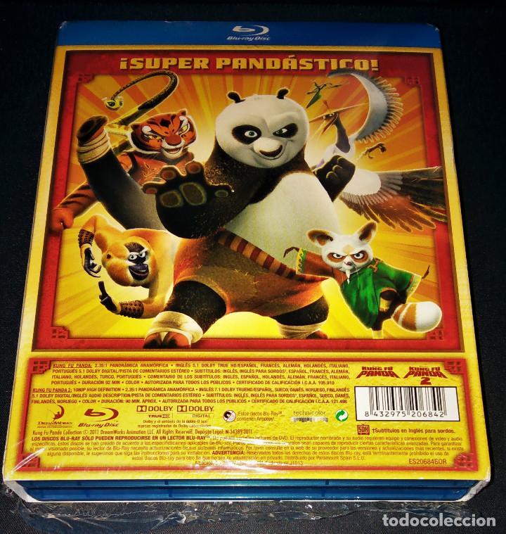 Cine: Kung Fu Panda 1 + 2 Lote Pack Bluray - Como nuevo - blu-ray blu ray KungFu - Foto 4 - 171447845