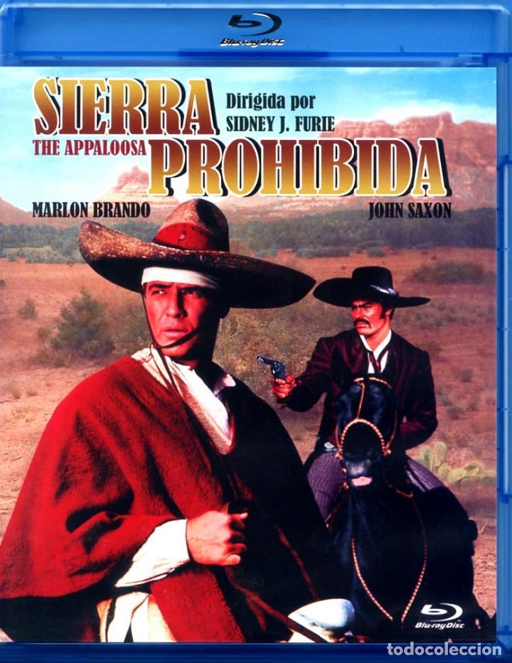 SIERRA PROHIBIDA (BLU-RAY DISC BD ORIGINAL PRECINTADO) MARLON BRANDO - JOHN SAXON (Cine - Películas - Blu-Ray Disc)