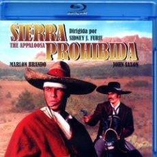 Cine: SIERRA PROHIBIDA (BLU-RAY DISC BD ORIGINAL PRECINTADO) MARLON BRANDO - JOHN SAXON. Lote 220236631
