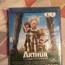 Cine: ARTHUR Y LA GUERRA DE LOS MUNDOS BLURAY+DVD PRECINTADO. Lote 171631980