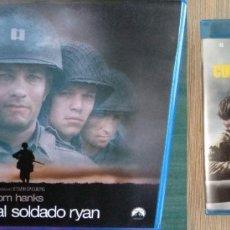 Cine: PACK BLU RAY CINE BÉLICO: FURY CORAZONES DE ACERO + SALVAR AL SOLDADO RYAN. Lote 172242428