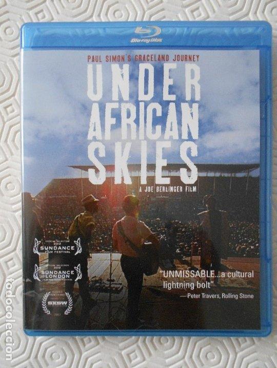 UNDER AFRICAN SKIES. PAUL SIMON'S GRACELAND JOURNEY. BLURAY DE LA PELICULA DE JOE BERLINGUER SOBRE E (Cine - Películas - Blu-Ray Disc)