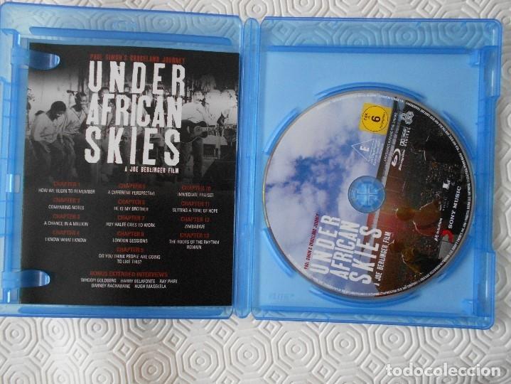 Cine: UNDER AFRICAN SKIES. PAUL SIMONS GRACELAND JOURNEY. BLURAY DE LA PELICULA DE JOE BERLINGUER SOBRE E - Foto 2 - 172298020