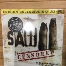 Cine: SAW 2 BLURAY + DVD EXTRA ( EDICIÓN COLECCIONISTA ) - PRECINTADO -. Lote 172775399