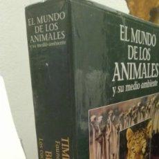 Cine: LASER DISC EL MUNDO DE LOS ANIMALES Y SU MEDIO AMBIENTE. Lote 172953807