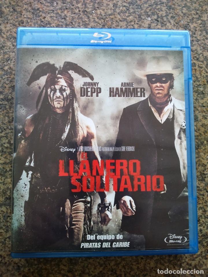 BLU-RAY -- EL LLANERO SOLITARIO -- JOHNNY DEPP Y ARMIE HAMMER -- (Cine - Películas - Blu-Ray Disc)