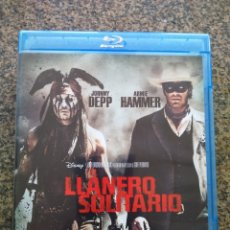 Cine: BLU-RAY -- EL LLANERO SOLITARIO -- JOHNNY DEPP Y ARMIE HAMMER -- . Lote 173022923