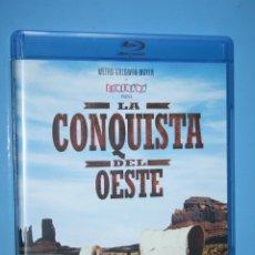 Cine: LA CONQUISTA DEL OESTE *** CINE EN BLUE-RAY DISC (DOBLE DISCO) *** METRO GOLDWIN MAYER. Lote 173515629