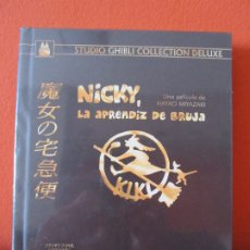 Cine: NICKY LA APRENDIZ DE BRUJA EDICION GHIBLI COLLECTION DELUXE DIGIBOOK BLURAY +DVD MIYAZAKI ANIME MANG. Lote 222610528