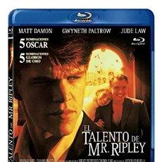 Cine: EL TALENTO DE MR. RIPLEY - BLU-RAY NUEVO Y PRECINTADO. Lote 175188224
