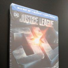 Cine: STEELBOOK LIGA DE LA JUSTICIA - BLU-RAY 3D - JUSTICE LEAGUE. Lote 175343398