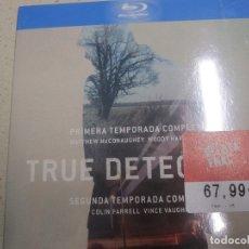 Cine: TRUE DETECTIVE PRIMERA Y SEGUNDA TEMPORADAS COMPLETAS BLU RAY NUEVA Y PLASTIFICADAS. Lote 175359229