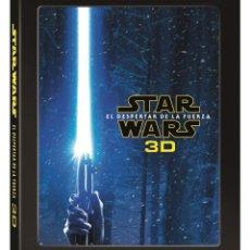 Cine: STAR WARS EL DESPERTAR DE LA FUERZA 3D + 2D + DISCO CON EXTRAS *** PRECINTADO. Lote 175517492