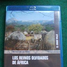 Cine: RUTAS DEL MUNDO EL GRAN VIAJE PLANETA LOS REINOS OLVIDADOS DE AFRICA. Lote 175576189