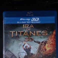 Cine: IRA DE TITANES 3D. BLU-RAY 3D+BLU-RAY. Lote 175894213