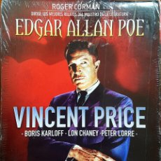 Cine: PACK VICENT PRICE 3 (EDGAR ALLAN POE). Lote 176140199