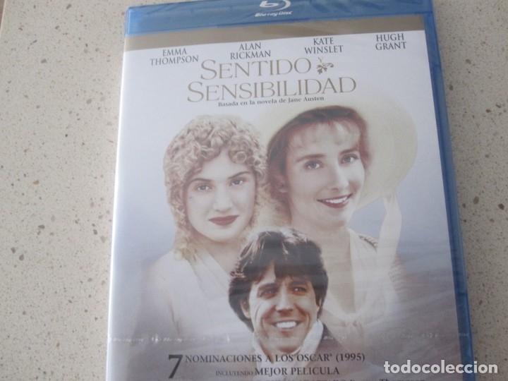 SENTIDO Y SENSIBILIDAD BLU RAY NUEVO (Cine - Películas - Blu-Ray Disc)