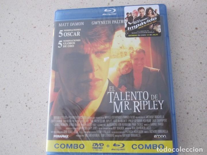 EL TALENTO DE MR RIPLEY BLU RAY NUEVO Y PLASTIFICADO (Cine - Películas - Blu-Ray Disc)
