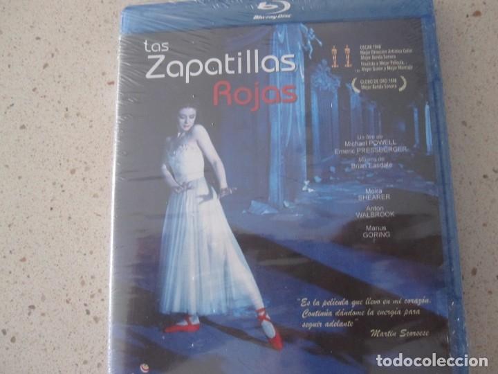 LAS ZAPATILLAS ROJAS BLU RAY NUEVO Y PLASTIFICADO (Cine - Películas - Blu-Ray Disc)