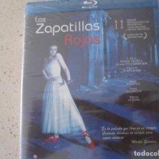 Cine: LAS ZAPATILLAS ROJAS BLU RAY NUEVO Y PLASTIFICADO. Lote 176219312