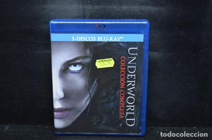 UNDERWORLD - COLECCION COMPLETA - BLU RAY (Cine - Películas - Blu-Ray Disc)