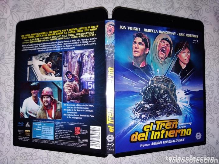 EL TREN DEL INFIERNO JOHN VOIGHT BLU RAY DISC ORIGINAL EDICION ESPAÑOLA (Cine - Películas - Blu-Ray Disc)