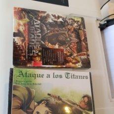 Cine: ATAQUE A LOS TITANES, LA PELÍCULA PARTE 1 Y 2 , EDICIÓN COLECCIONISTA , BLU RAY. Lote 176969743