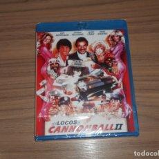 Cine: LOS LOCOS DE CANNONBALL II BLU-RAY DISC BURT REYNOLDS NUEVO PRECINTADO. Lote 177057402