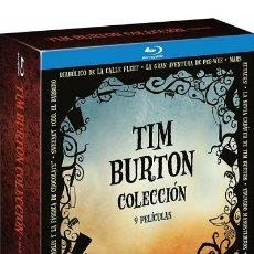 Cine: COLECCIÓN TIM BURTON - (BLU-RAY). Lote 177448199
