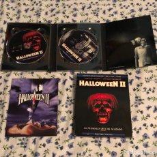 Cine: HALLOWEEN II EDICCION COLECCIONISTA BLURAY +DVD+LIBRO. Lote 177607507