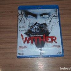 Cine: WITHER TERROR BLU-RAY DISC NUEVO PRECINTADO. Lote 177876335