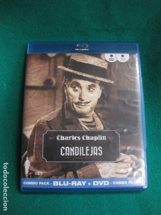 CHARLES CHAPLIN. CANDILEJAS. BLU-RAY DISC + DVD. COMBO PACK. (Cine - Películas - Blu-Ray Disc)