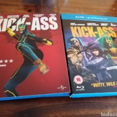 Cine: KICK-ASS 1 Y 2 BLU-RAY. Lote 178866325